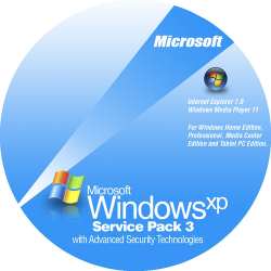 Windows XP SP3 微軟官方更新修正包